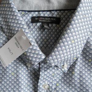 Banana Republic Tailored Slim Fit Shirt size XXL/T